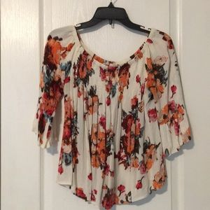 Alter'd State Fall Floral Boho Top